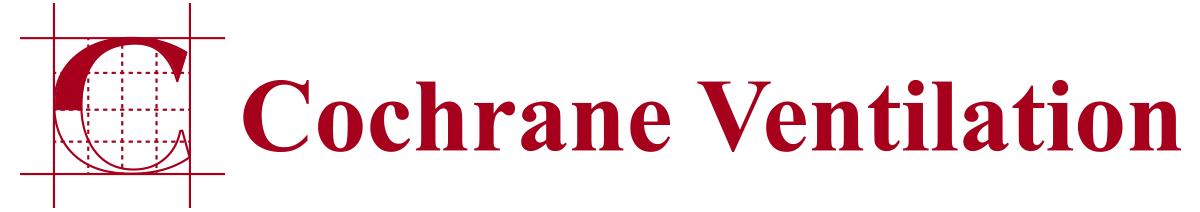 Cochrane Ventilation